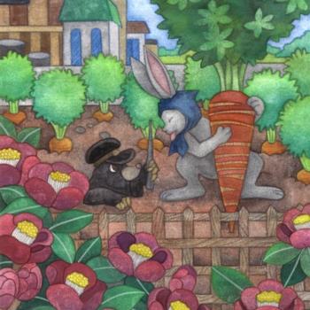 2011年3月8日のウサギの絵