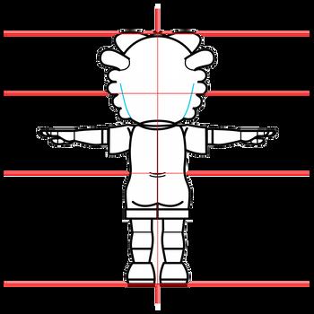 牧場らむりん(しまじろうシリーズ)三面図2