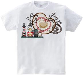 目玉焼き(Fried egg)Tシャツ