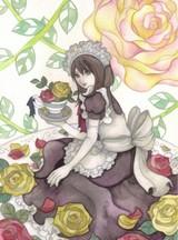 「メイドさんと薔薇」メイキング6