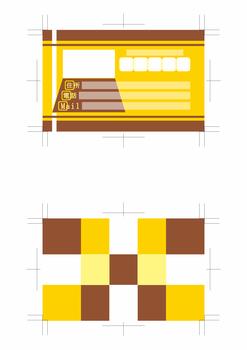 名刺デザイン青赤緑黄色黒系両面500dpi(テーマは「Web designer」)4