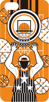 バスケットボール男子(Men's basketball)iPhone 5・5Sハードケース