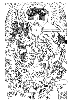 Inkscape線画トレース重