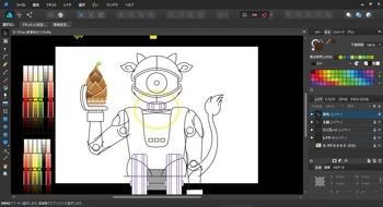 NHK Eテレの「モーガン・フリーマン 時空を超えて」に出てきたロボット(オリジナル要素多め)0005