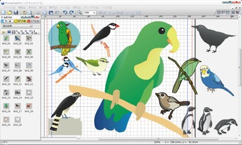 DrawGraphic2使用感想(鳥)