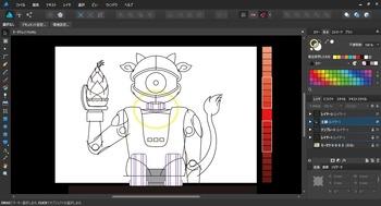 NHK Eテレの「モーガン・フリーマン 時空を超えて」に出てきたロボット(オリジナル要素多め)0004