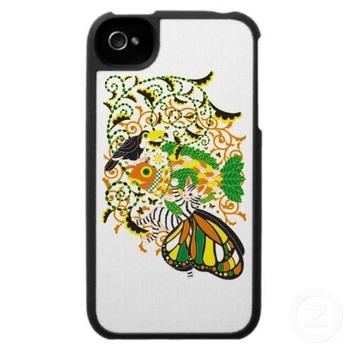 植物魚と猫蝶とオニオオハシ5色(Plant fish and Butterfly cat and Toco toucan 5 colors)