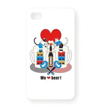「We love beer!」5色 iPhone4Sオリジナルケース 2,625円