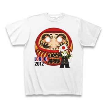 2012年ロンドンオリンピック応援必勝だるま ClubTオリジナルTシャツ