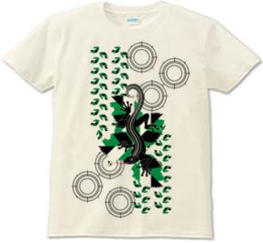 スナイパートカゲ(Sniper lizard)Tシャツnaturals