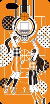 バスケットボール女子(Women's basketball)iPhone 5・5Sハードケース