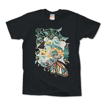 植物魚と猫蝶とオニオオハシ(リメイク)