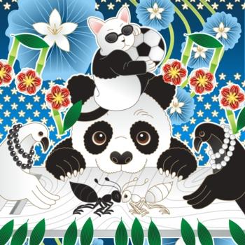 パンダのイラスト応募用