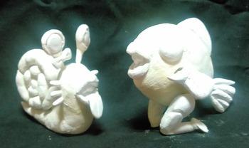 紙粘土タンノくんイトウくん(パプワくん)3