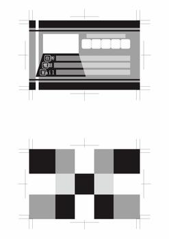 名刺デザイン青赤緑黄色黒系両面500dpi(テーマは「Web designer」)5