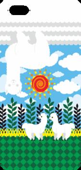 アルパカ雲(Alpaca cloud)iPhone 5・5Sハードケース