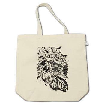 植物魚と猫蝶とオニオオハシモノクロ(Plant fish and Butterfly cat and Toco toucan monochrome)