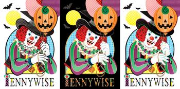 「Unhappy Halloween!」By:ペニーワイズ(IT/イット)