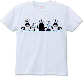 鯨Tシャツ(WHALETSHIRT)