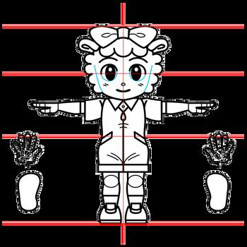 牧場らむりん(しまじろうシリーズ)三面図1