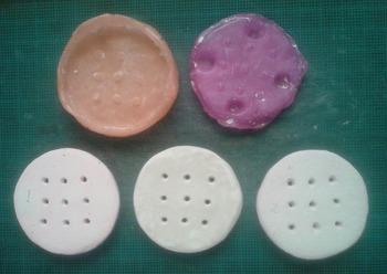 紙粘土細工研究勉強反省会(簡易メイキング)ルージュラ&コロ助おゆまる複製2−2