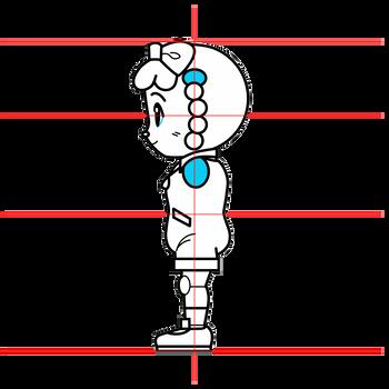 牧場らむりん(しまじろうシリーズ)三面図3