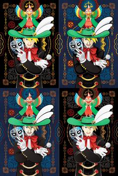 怪人☆仮面マスク哀牙と怪鳥☆仮面マスクサユリセット投稿