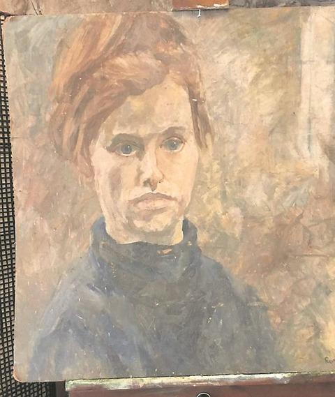 クリアランス・セールで6千円の絵、実はPink Floydのシド・バレットが描いた貴重な絵だった