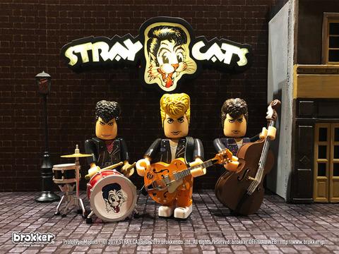 Stray Catsのフィギュアが登場