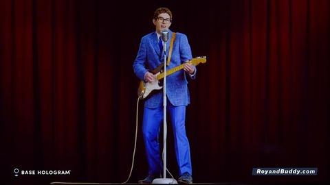 Roy Orbison&Buddy Hollyのジョイント・ホログラム・ツアーからバディのホログラム映像公開