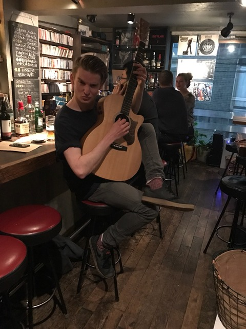 Sat April 01 2017 [Live Music] James Anthony in 45