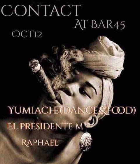 Fri Oct 12 2018 [DJ] contact by Raphael Sebbag