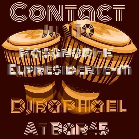 Fri. June 10. 2016[DJ]'Contact' by Raphael Sebbag