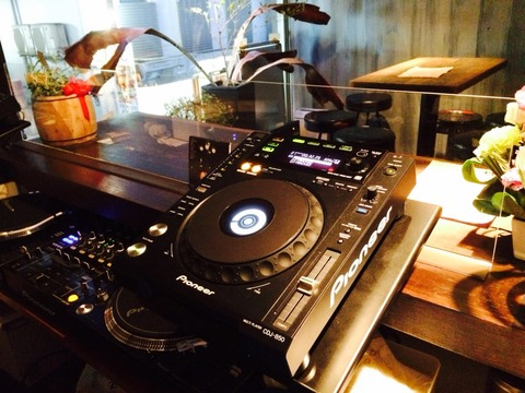 equipment for DJing DJ機材のご案内