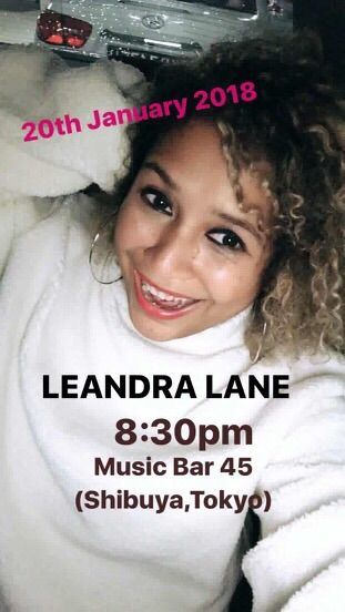 Sat Jan 20 2018 [live music] Leandra Lane from Singapore/LA