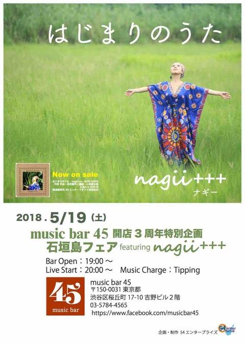 開店3周年特別企画 石垣島フェア featuring nagii+++