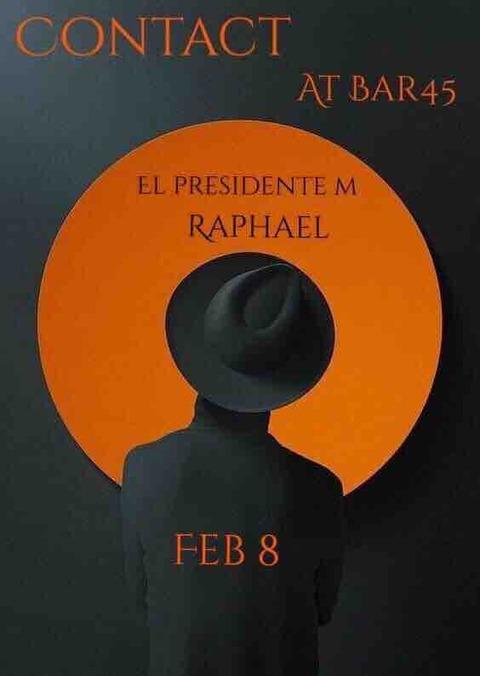 "Fri Feb 08 2019 [DJ] ""CONTACT"" by Raphael Sebbag"