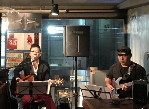 Sat Mar 18 2017 [Live] Jun Abe 安部 純 feat. 田中育生(E.G.)