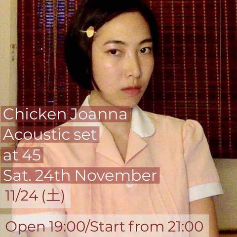 Sat Nov 24 2018 [live music] Chicken Joanna