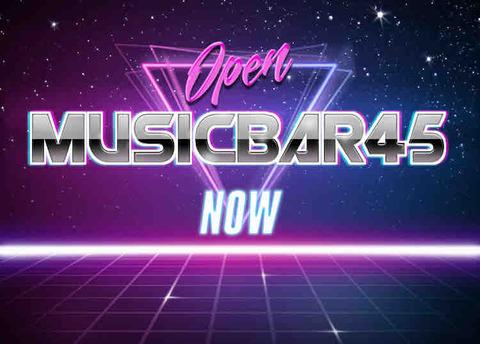 Time to reboot 45! music bar 45 営業再開について