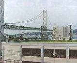 明石海峡大橋('08.4.12撮影)