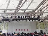モリタウン MOVIX前ガーデンステージ('15.8.30撮影)