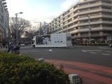 乃木坂46 AL『透明な色』広告宣伝車