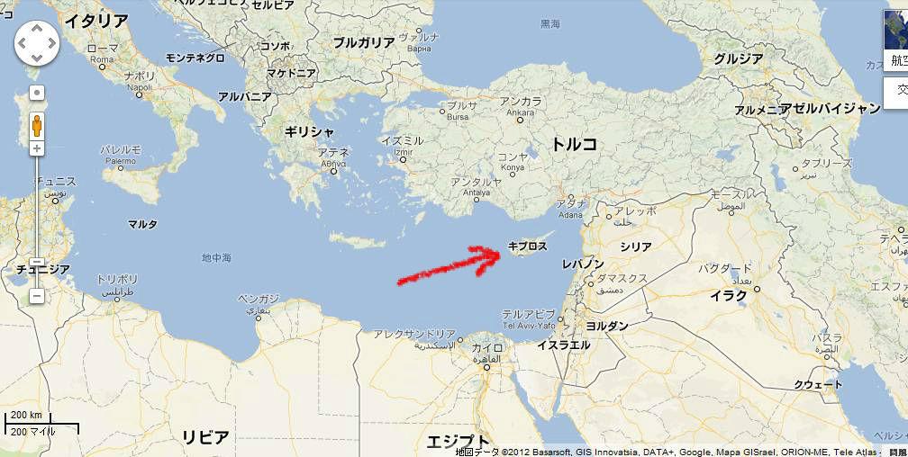 11/29北キプロス散策1 ゆるい国境を越えるとトルコの雰囲気
