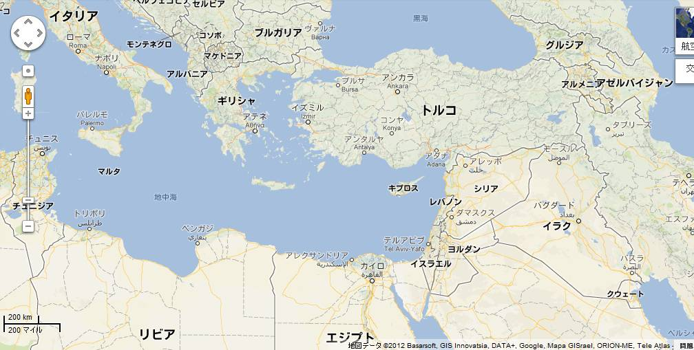 121130cyp キプロスの場所地中海の奥深くにある島国です。日本人にはあまり馴染みのな...