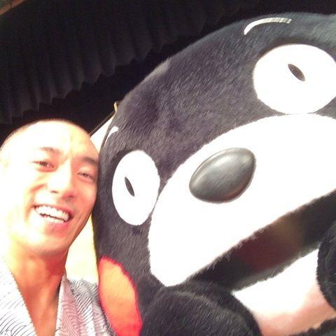 【歌舞伎】海老蔵とくまモンのツーショットが可愛いwwwwww