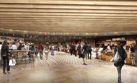 市営地下鉄御堂筋線新大阪駅に駅ナカ商業施設「新なにわ大食堂」が3月30日(水曜日)に開業