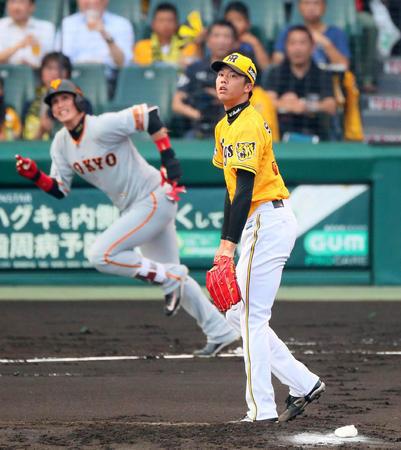 甲子園の怪…阪神 ホームなのに4度目3タテ 巨人にまた屈辱 借金ワーストタイ6