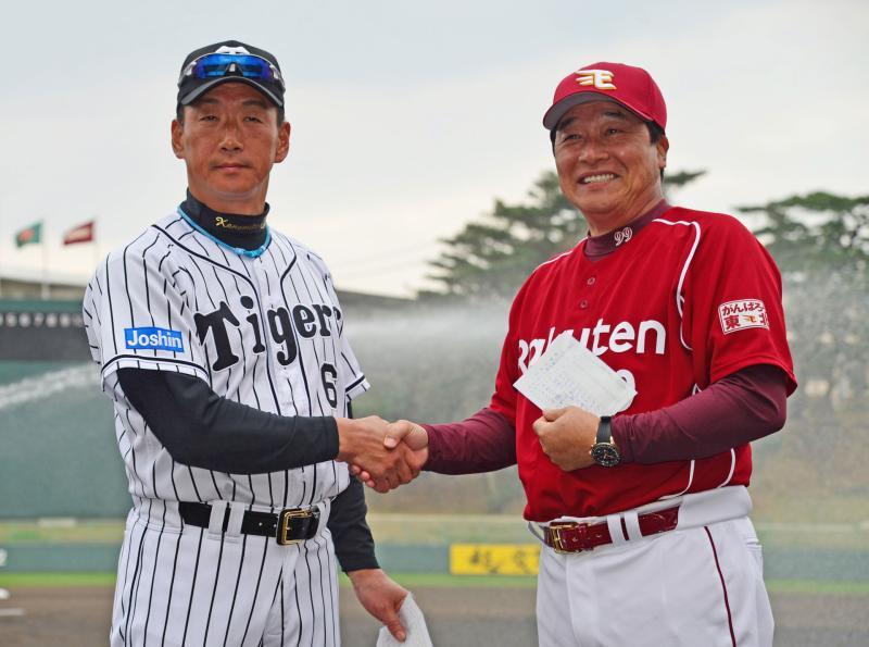 阪神楽天練習試合-1