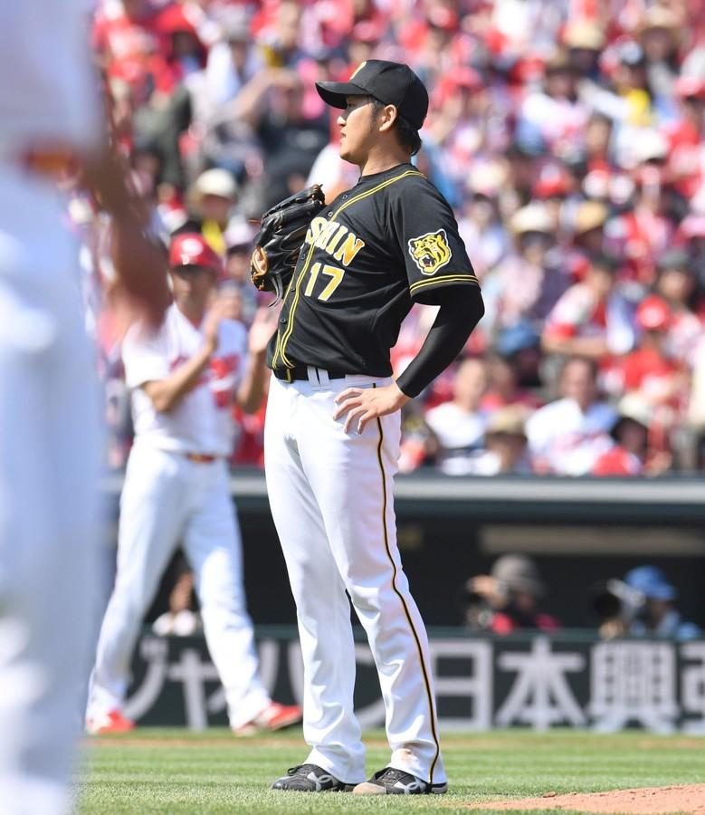 【阪神】岩貞9連敗中の広島に6回2失点。好投も勝敗はつかず。
